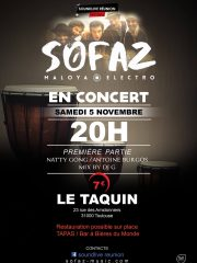Sofaz + Natty Gong + Antoine Burgos + DJ G au Taquin – Tlse